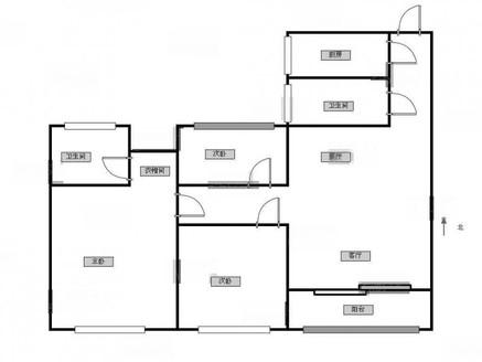泰盈八千里,精装3房,南北通透,拎包入住,中上楼层