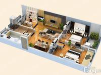 莱蒙城新尚小面积三房 有钥匙满两年采光好 地铁口凯尔锋度旁