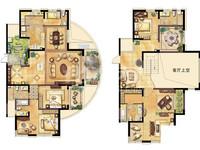莱蒙城空中别墅 复试两层赠送面积大 满两年地铁口凯尔锋度弘建一品旁
