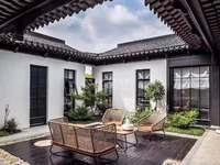 武进西太湖,泰富江南印象,独栋别墅,中式合院。220一320平直签合同,多套