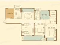 机关幼儿园实小本部的星河国际一楼带院子138平只要240万毛坯房南北通透双阳台