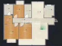 新城御景湾 三井小学 132平 310万 9楼 三室二厅二卫毛坯房