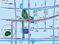 蓝山湖交通图