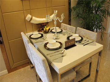 127.71㎡餐桌