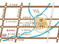 世茂香槟湖交通图
