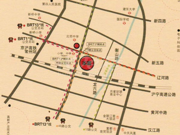 凤凰名城区位图