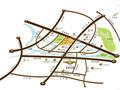 新城金郡交通图