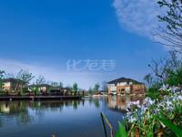 武进西太湖畔,天安独栋别墅,超大花园,享有私密空间,小桥流水,绿化极好,看房方便