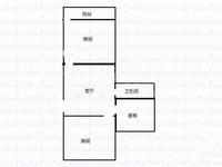 丽华二村——面积108平米毛坯——60万顶楼带阁楼
