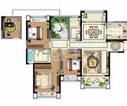 1-3、20# 4房2厅2卫  141.05㎡