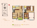 新城牡丹·公园世纪户型图