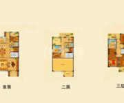 别墅 3+1房3厅4卫3露台 248㎡