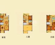 别墅 4房3厅4卫3露台 229㎡