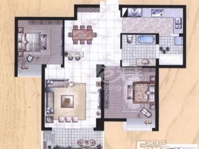 中央花园 高档住宅首次低价震撼来袭 全套家具家电 拎包入住