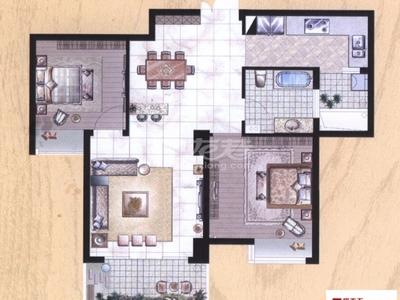 世茂香槟湖精装温馨两居室超干净整洁,房东急租,值得看一眼的房子