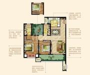 B 智慧城堡 3房2厅2卫 116㎡