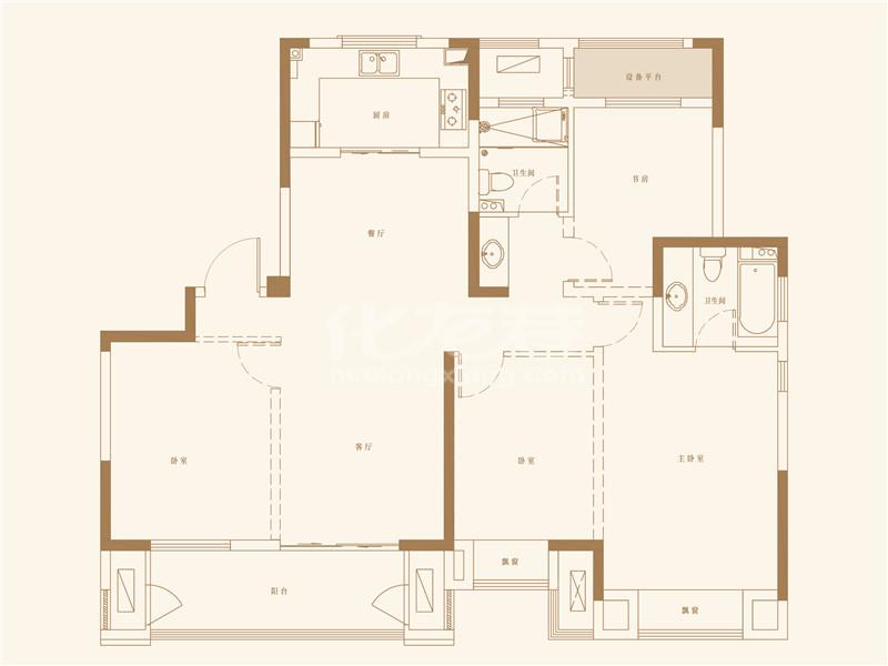 天象 142㎡ 四室两厅两卫