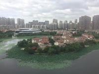 世茂香槟湖四期,复式湖景房,东首户,中间楼层,空中别墅