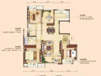 水岸花语旁凤凰熙岸小高层118平边户4室2卫 有钥匙看房方便