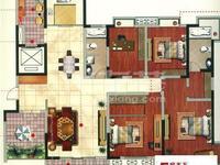 中央花园,超豪华大平层,5房2厅2卫。豪华装修,中央空调地暖