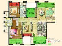 莱蒙城 毛坯四室两厅双阳台 南北通透 无敌采光 景观楼层 地铁口 满2 常大附小
