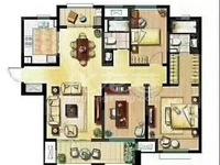 新城域毛坯三房满两年景观房中间楼层全天采光户型方正