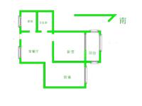 红梅东村 火车站红梅公园旁2室2厅 3楼交通生活方便