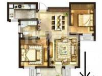 D铁沿线华润国际三期毛坯两室两厅三朝南楼层采光好全明满二135万