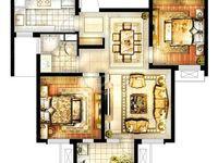 10月新推,华润国际3期21楼,毛坯2居室满2年,135万有钥匙