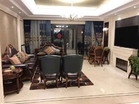金地天际豪装5房未入住,南北阳台,品牌家具家电,随时看房