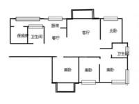 出售怀德桥吾悦国际对面河景花园4室2厅2卫168平米280万住宅