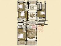 雅居乐星河湾270平景观大平层,4室2厅4卫毛坯房,看中价可议