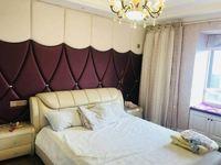 滨江明珠城二期 豪装两房 全橡木地板 品牌家具家电,楼层好全天采光,满两年诚售