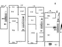御翠天峯联排别墅 三层别墅 红梅公园是您的后花园 毛坯五室三厅两卫