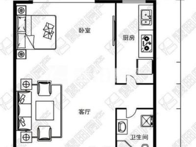 有钥匙看房 地-铁-沿线单身公寓精装拎包入住 价格实.惠