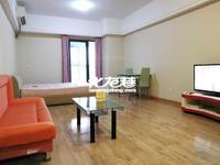 新北万达广场精装一室 拎包入住 朝南 2200元/月 看房方便