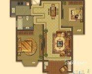 大名城 135万 2室2厅1卫 毛坯好房 满二