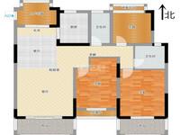 银河湾第1城二期 纯毛坯3房 户型方正 南北通透 采光位置好 房东诚售 看房方便