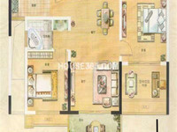 金地格林郡旁银河湾第1城二期 小区门口 楼层位置好 中间楼层 房东诚售 看房方便