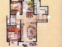 毛坯2居室,景瑞英郡,品质小区好楼层125万!