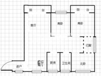 华润国际社区一楼三房,三朝南采光,送前后院子,住出别墅的感觉,局小,地铁口
