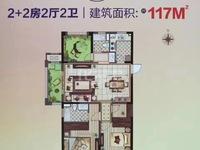 红星国际广场招商花园城毛坯大三房 急售 有钥匙随时看房