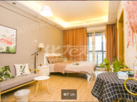 延政路地铁口,朝西精装修1居室公寓,急售38万
