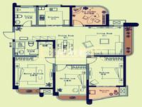 璞丽湾2期,东首毛坯4房,满2年,地铁口古运河畔,有钥匙看房