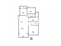 京城豪苑 小区内毛坯三房 满两年 户型佳随时看房