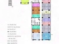 新北万达旁区政府北侧朗诗公寓30到80平一手房均价九千多