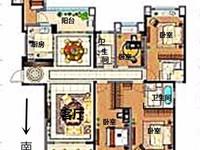 万达旁,雅居乐星河湾,毛坯四房,经典户型,位置好,有钥匙看房