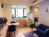 新北环球港旁,九洲花园精装带天燃气阳台公寓出售,单价不高,可贷款。