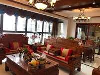 吾悦旁玉兰广场豪装四房170平330万满二实小本部新中式装修楼层好采光佳看房方便