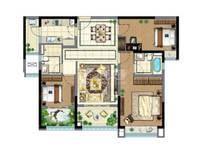 新出雅居乐星河湾3室2厅2卫130平米215万住宅